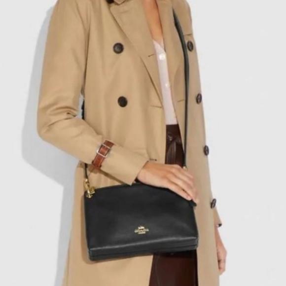 Coach Handbags - Coach Mia Crossbody Pebbled Leather BNWOT